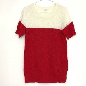 J. Crew Women's Short Sleeve Sweater Sz M